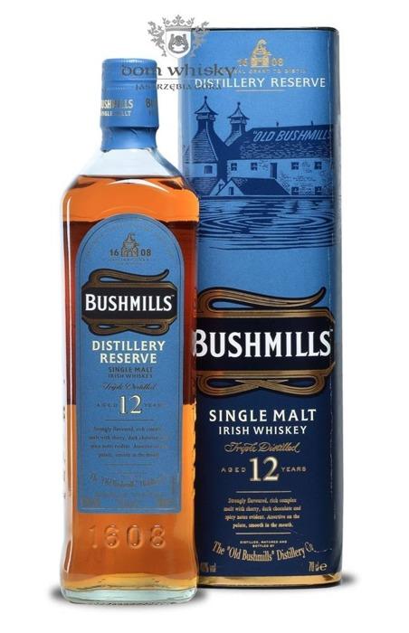 Bushmills Distillery Reserve 12-letni (Blue Label) / 40%/ 0,7l