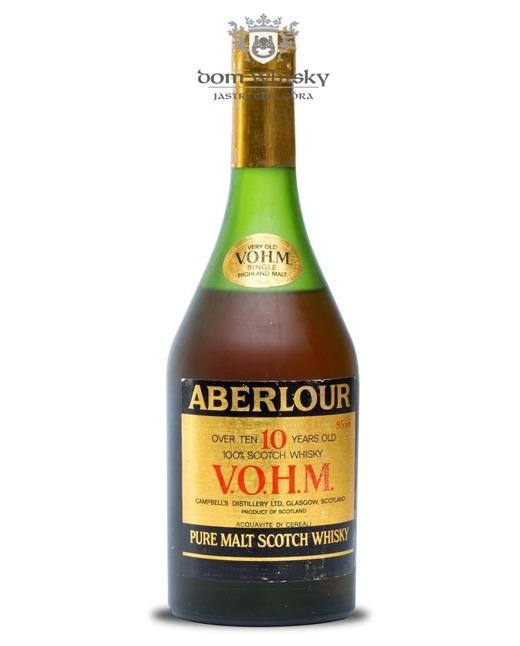 Aberlour 10-letni V.O.H.M. Bot.1980s / 43% / 0,7l