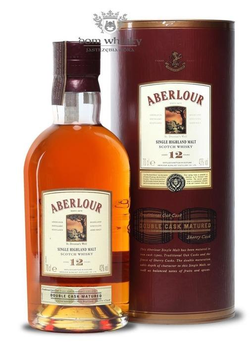 Aberlour 12-letni Double Cask Matured / 43% / 0,7l