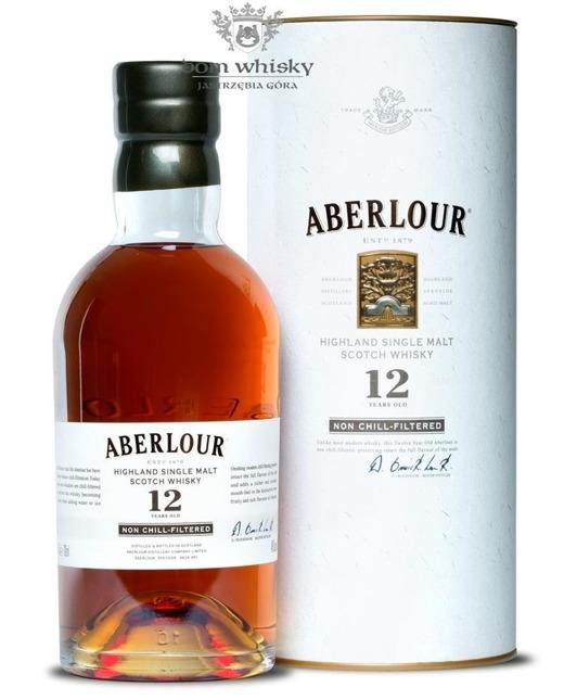Aberlour 12-letni Non chill-Filtered / 48% / 0,7l