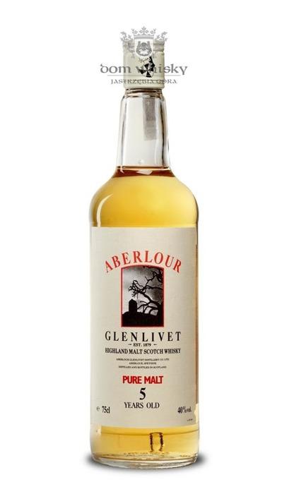 Aberlour Glenlivet 5-letni / 40% / 0,75l