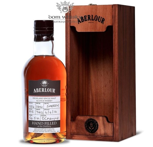 Aberlour Hand Filled at the Distillery on 04-04-2016 /56,5%/ 0,7