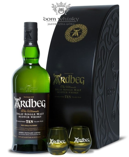 Ardbeg TEN, 10-letni Quadrant Pack / 46% / 0,7l