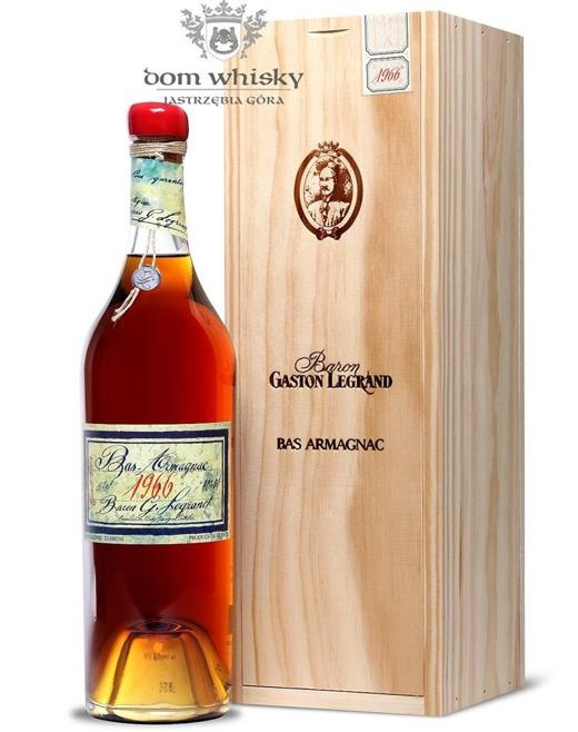 Armagnac Baron Gaston Legrand 1966 / 40% / 0,7l