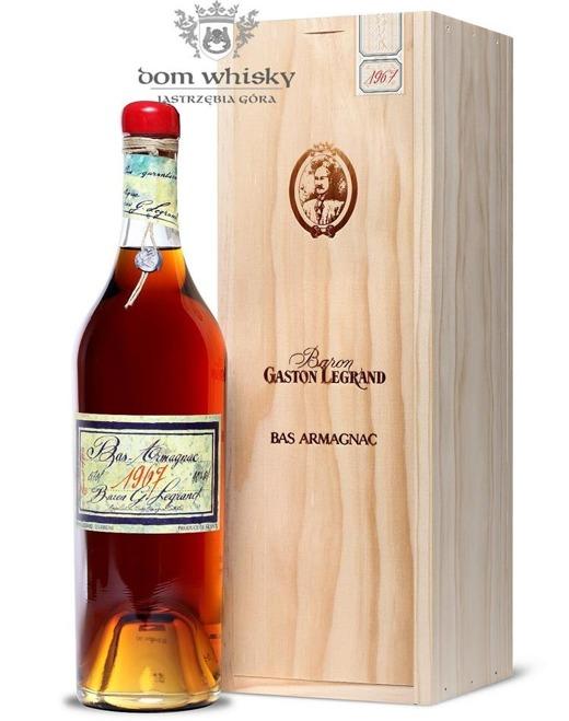 Armagnac Baron Gaston Legrand 1967 / 40% / 0,7l