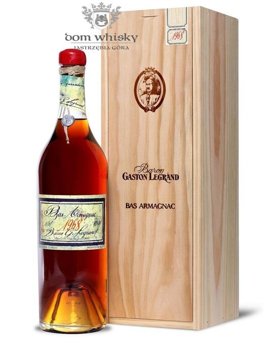 Armagnac Baron Gaston Legrand 1968 / 40% / 0,7l