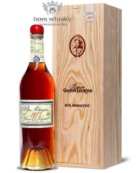 Armagnac Baron Gaston Legrand 1977 / 40% / 0,7l
