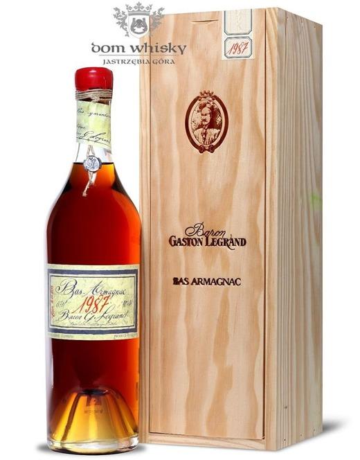 Armagnac Baron Gaston Legrand 1987 / 40% / 0,7l