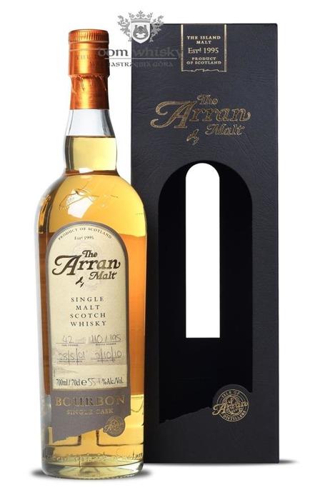 Arran Bourbon Single Cask / 55,1% / 0,7l