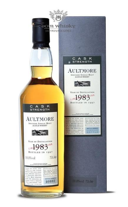 Aultmore 1983 (B.1997) Flora & Fauna Cask Strength /58,8% /0,7l