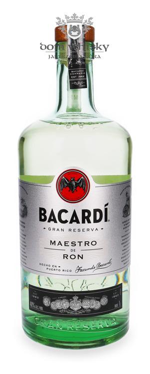 Bacardi Gran Reserva Maestro de Ron / 40% / 1,0l