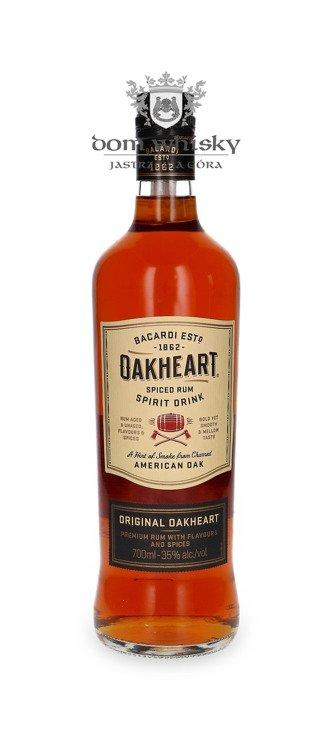 Bacardi Oakheart Smooth & Spiced / 35% / 0,7l