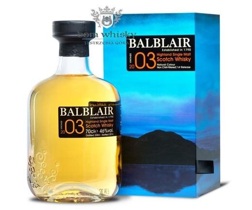 Balblair 2003 (Bottled 2014) / 46% / 0,7l