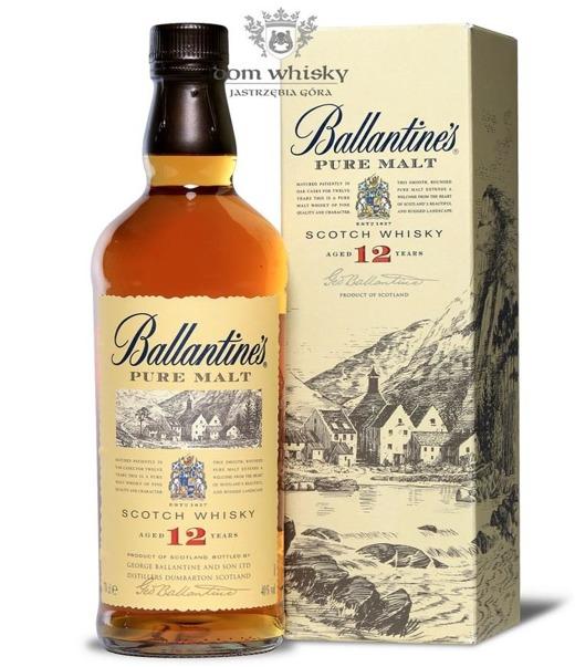 Ballantine's 12-letni Pure Malt (Kartonik) / 40% / 0,7l
