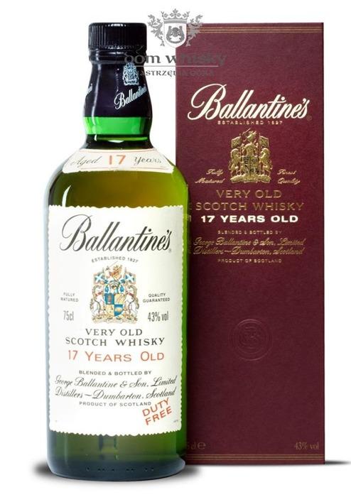 Ballantine's 17 letni Review 1990's / 43% / 0,75l