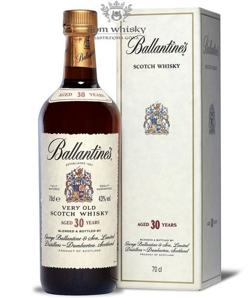 Ballantine's 30 letni Old Label / 43% / 0,7l