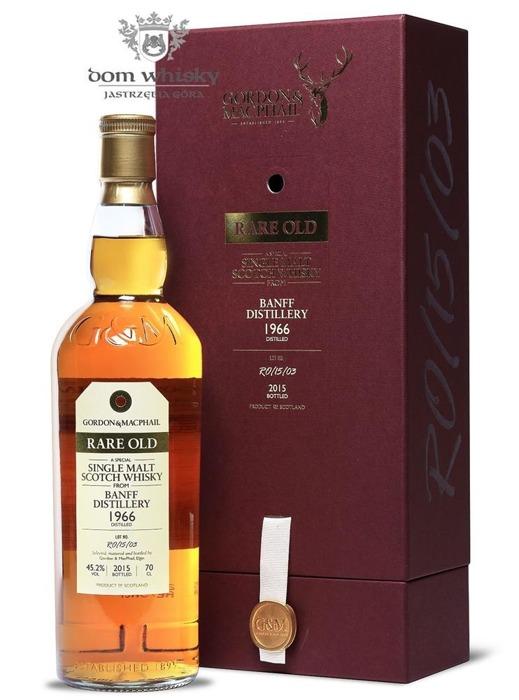 Banff 1966 (Bottled 2015) Rare Old, Gordon & MacPhail / 45,2%/ 0,7l