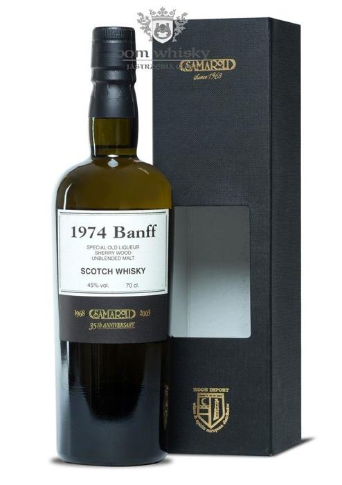 Banff 1974 (Bottled 2003) Samaroli 35th Anniversary / 45% / 0,7l