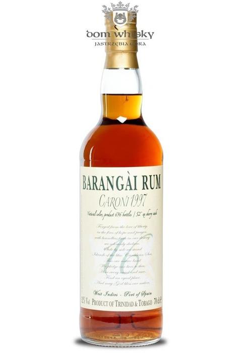 Barangai Rum Caroni 16-letni  1997/ 52% / 0,7l