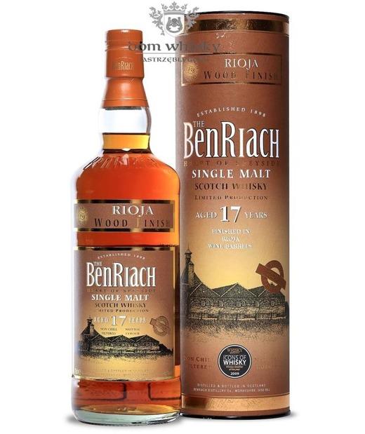 Benriach 17-letni Rioja Wood Finish / 46%/ 0,7l
