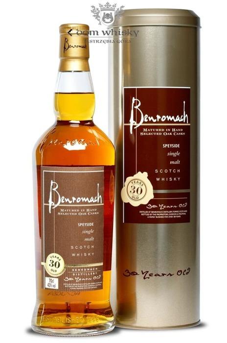 Benromach 30-letni (Bottled 2013) / 43% / 0,7l