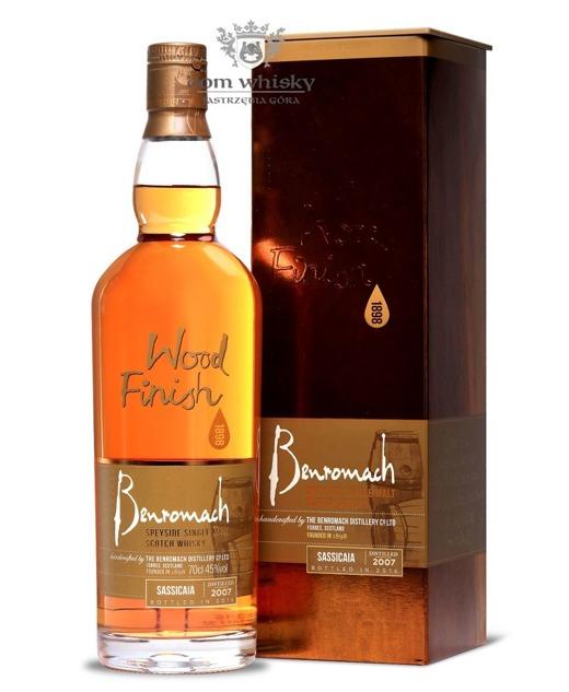 Benromach Sassicaia Wood Finish (D.2007, B.2016) / 45% / 0,7l