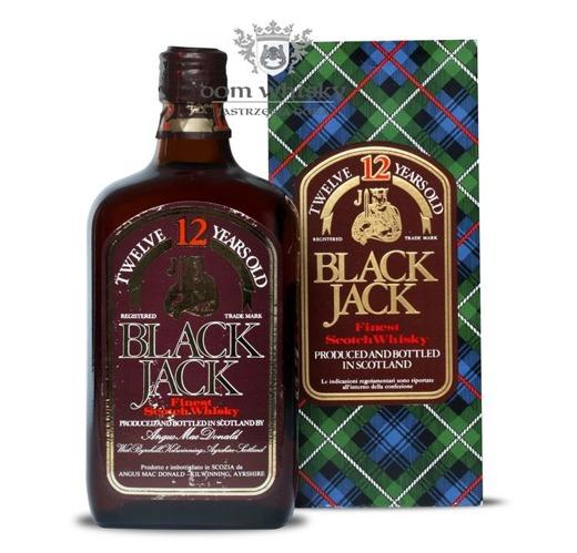 Black Jack 12-letni / 40% / 0,7l