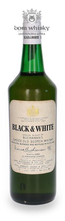 Black & White Special Blend Of Buchanan's / 40% / 0,75l