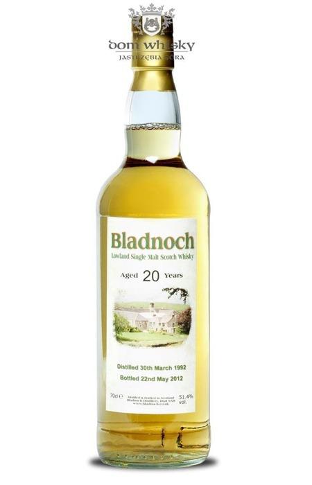 Bladnoch 20-letni (D.1992, B.2012) / 51,4% / 0,7l