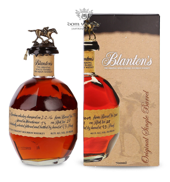 Blanton's Original Single Barrel / 46,5% / 0,7l