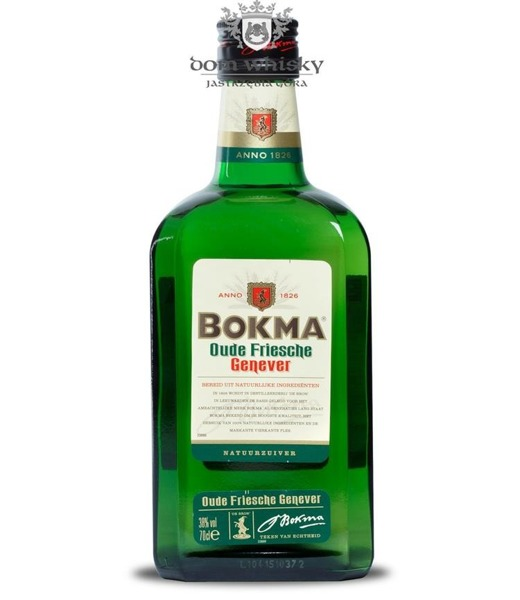 Bokma Oude Old Genever Gin (Holandia) / 38% / 0,7l