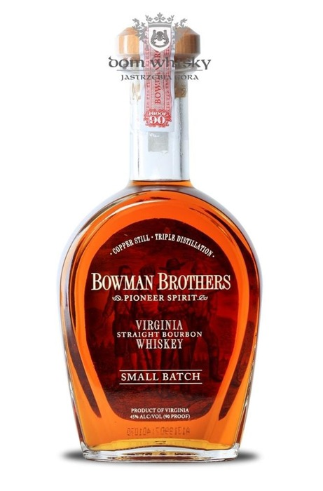 Bowman Brothers Virginia Straight Bourbon Whiskey / 45% / 0,75l