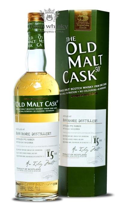 Bowmore 15-letni (D.1992, B.2007) Old Malt Cask / 50% / 0,7l