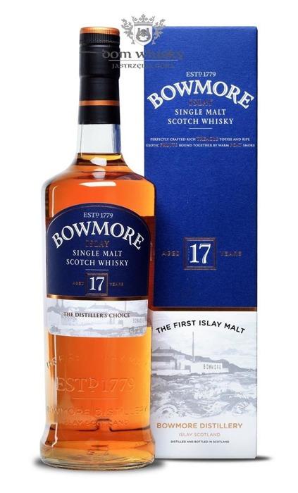 Bowmore 17-letni / 43% / 0,75l