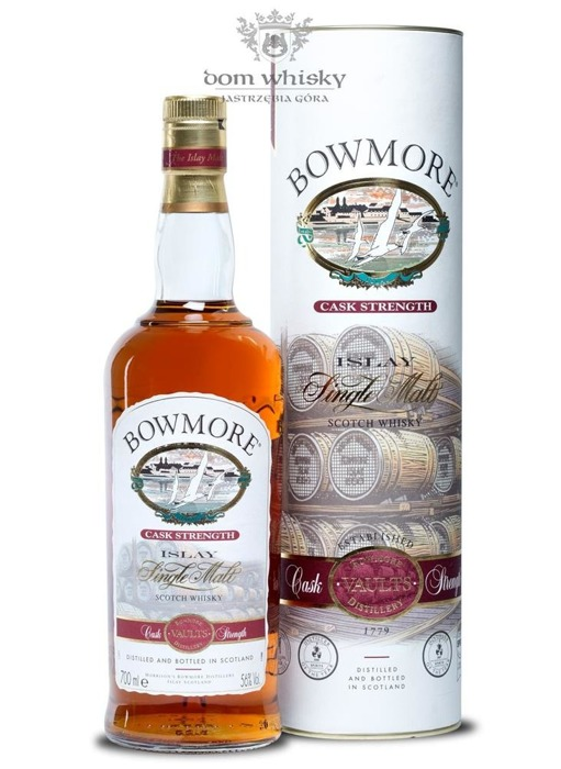 Bowmore Cask Strength Vaults / 56% / 0,7l