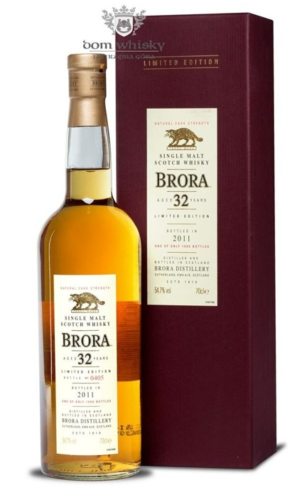 Brora 32-letnia (D.1978, B.2011) 10th Release / 54,7% / 0,75l