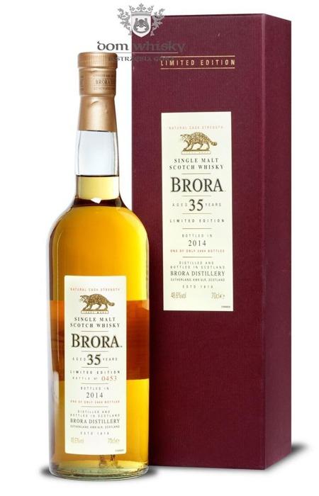 Brora 35-letnia (D.1978, B.2014) 13th Release / 48,6% / 0,7l