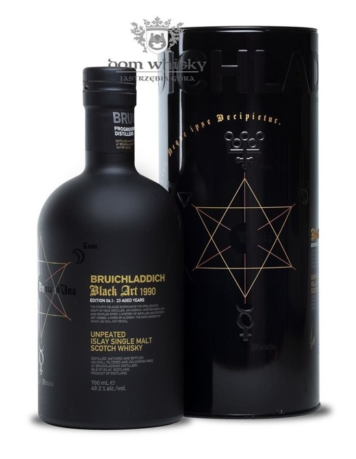 Bruichladdich Black Art 1990, 23-letni, Edition 04.1/49,2%/0,7l