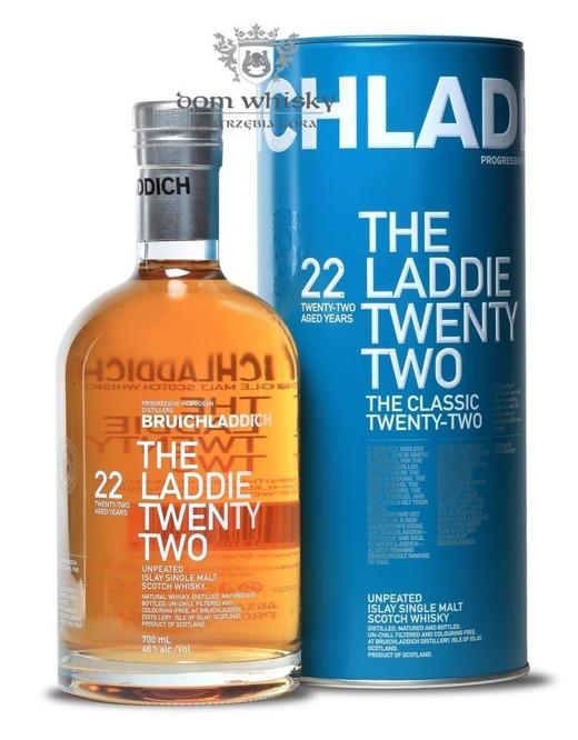 Bruichladdich The Laddie Twenty Two, 22-letni / 46% / 0,7l