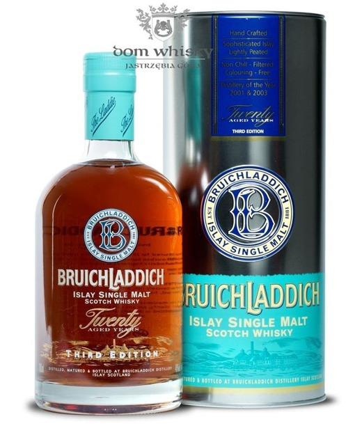 Bruichladdich Twenty, 20-letni(D.1985,B.2005)3rd Edition/46%/0,7