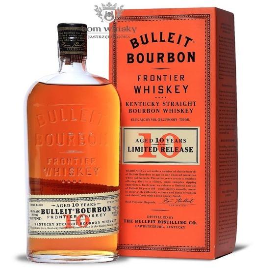 Bulleit Frontier 10-letni Bourbon Whiskey / 45,6% / 0,75l