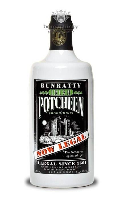 Bunratty Irish Potcheen Kamionka Porcelana / 40% / 0,7l