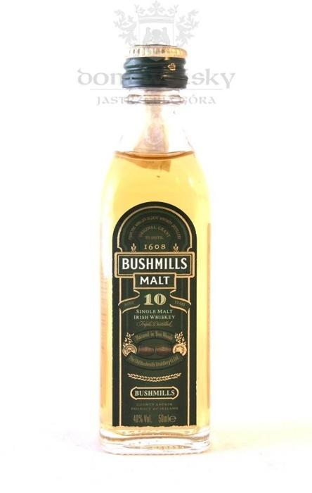 Bushmills 10 letni / 40% / 0,05l