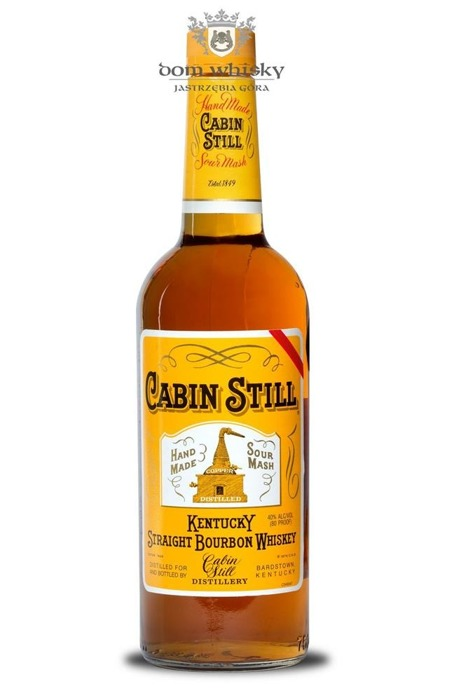 Cabin Still Kentucky Straight Bourbon / 40% / 0,75l