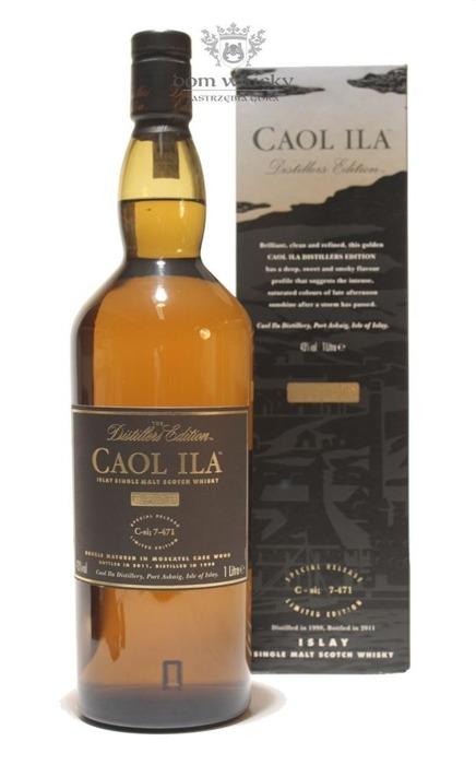 Caol Ila 1998(B.2011)Distillers Edition, Moscatel Finish/43%/1,0