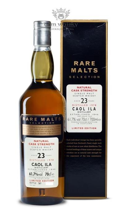 Caol Ila 23-letnia (D.1978, B.2002) Rare Malts / 61,7% / 0,7l