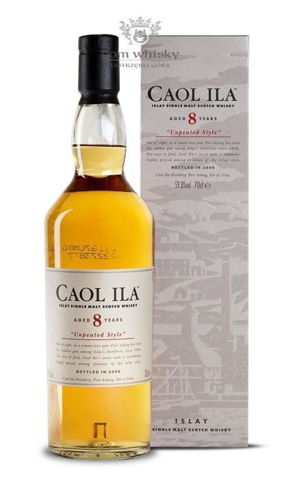 Caol Ila 8-letnia Unpeated Style (Bottled 2006) / 59,8% / 0,7l