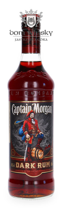 Captain Morgan Black / 40% / 0,7l