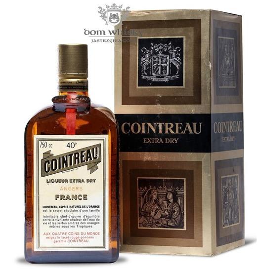 Cointreau Liqueur Extra Dry / 40% / 750 cc