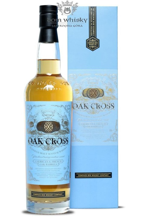 Compass Box OAK CROSS / 43% / 0,7l